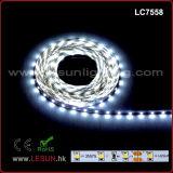 luz de tira flexível do diodo emissor de luz de 12V 2835 SMD