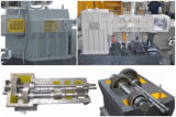 Штранге-прессовани провода смешивания PP рециркулируя цену машин с линией охлаждения на воздухе