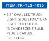 Indicatore luminoso incandescente Tk Tls-1035 del LED