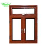 Beau design Alunium d'impression de transfert de la fenêtre en bois