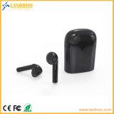 Bluetooth véritable Earbuds binaural stéréo sans fil avec le cas de chargeur
