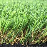 人工的な草の総合的な芝生の泥炭を美化する18mmの高さ18900の密度Lad10の自然な一見