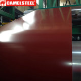 Il materiale di strato caldo del tetto di vendita 2017 ha preverniciato la bobina dell'acciaio PPGI