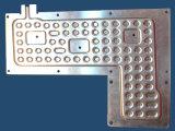 2つの型のアルミニウム版の蒸化器