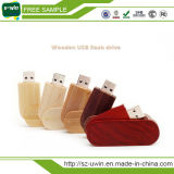 4GB, das hölzernen Bambus USB-Blitz-Laufwerk-Speicher-Stock dreht
