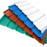 Überzogenes blaues gewölbtes Stahldach-Blatt färben