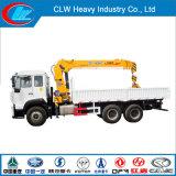 2018 Clw 기중기를 가진 중국 대중적인 6ton HOWO 6X4 트럭