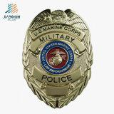 昇進の記念品のギフトのカスタムエナメルの金の公安警察は金属のクラフトで記章を付ける
