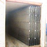 중국 Tangshan 제조자에서 150*75 JIS 강철 채널