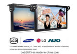 高品質のメディアプレイヤーの表示LCDが付いているLCDスクリーンのバスそしてタクシーを広告している17インチのベストセラー