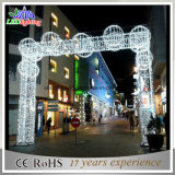 Weihnachtslicht LED beleuchtet Schneeflocke-Bogen-Lichter
