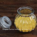 Kürbis-Form-Glasglas für Getreide-Speicher