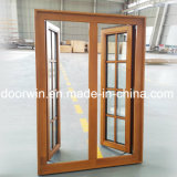 Просто решетка окна Windows панели Deisgn стеклянная и твердая древесина