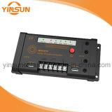 12V/24V 10A MPPTの太陽コントローラの太陽電池の充電器のコントローラ