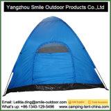 Barraca de acampamento impermeável de venda quente da pessoa hidráulica do estilo 3-4 da mola