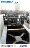 3개의 차축 액압 실린더 덤프 트럭 후방 기울이는 트레일러