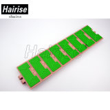 Har820fh flache Oberseite-Gummiketten-modulares Förderband