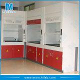 鋼鉄化学実験室の発煙食器棚