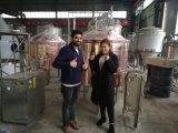 3 Zylinder, Umhüllung des Dampf-500L/elektrisches Bier-Brei Tun&Lauter Bottich-Gerät für Verkauf