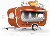 Fast food móvel Van da motocicleta profissional/reboque do alimento