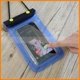 3 Reißverschluss-Verschluss-Raum-Fenster, das Foto video wasserdichten Telefon-Kasten nimmt