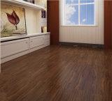 Plancher desserré imperméable à l'eau de vinyle de salle de bains de configuration de 100% sans colle vers le bas
