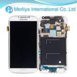 Écran LCD d'I9500 I9505 avec le bâti pour Samsung S4