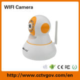 無線屋内小型ドームのWiFi IR PTZ CCTV IPの保安用カメラ