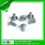 M3 Zinc Plated Pan Wafer Head Self Tapping Screw for Plastic