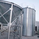 Heißer Verkaufs-Masse-Stahl verriegelter Silo für Kleber-Klinker-Speicher