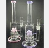 لون قرنفل وأرجوان [وتر بيب] زجاجيّة من زهرة مرشّح تبغ