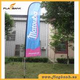 bandierina su ordinazione di alluminio/Flyingflags della piuma di mostra di 3.4m