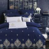 Conjuntos de roupa de casa/algodão acetinado Sateen capas de edredão e conjuntos de folhas