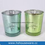 Design de árvore de chá em vidro colorido titulares de Luz