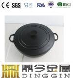 Esmalte de ferro fundido panelas usado no gás natural