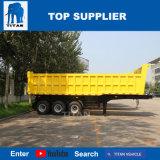 Titan 3 essieu dump dump hydrauliques de remorque hydraulique de remorque Remorque Benne basculante conteneur