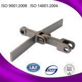 Legierter Stahl schmiedete Förderanlagen-Schaber-Kette mit anerkannter ISO