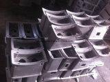 주문을 받아서 만들어진 알루미늄 펌프 주물 부속