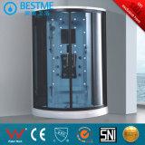 Vidrio templado de Tejido fácil de limpiar la habitación de cabina de ducha de vapor (BZ-820)