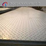Prezzo di alluminio del piatto dell'ispettore impresso scala di alluminio antiscorrimento