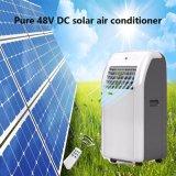 C.C. 24V 9000BTU del acondicionador de aire solar de la red el 100%