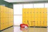 Casiers phénoliques solides de stratifié de contrat pour changer Room&Gym