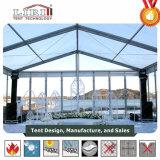 Luxuxhochzeits-Festzelt-Zelte mit Glaswänden