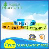 Wristband em branco do silicone em todas as cores para a venda por atacado