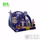 De forma personalizada populares Estilo Citadino seca insufláveis escorrega para as crianças a brincar Aumsement Jogos Desportivos