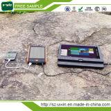 портативный водоустойчивый заряжатель крена солнечной силы 5000mAh