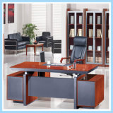 Mesa moderna do gerente da tabela executiva do escritório da mobília da melamina