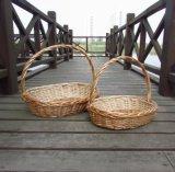 (BC-WB1016) de Met de hand gemaakte Natuurlijke Mand Van uitstekende kwaliteit van de Wilg/de Mand van de Gift