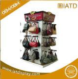 Étalage Point of Sale de carton avec 4 étagères retenant 30kg, présentoir robuste d'étage de carton