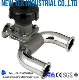 Actuator van het roestvrij staal Ss316L de Plastic Pneumatische Kleppen van het Diafragma van Triclover